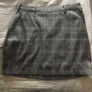 Honey punch plaid skirt